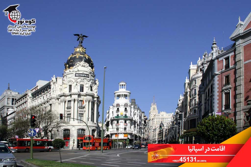 اقامت-در-اسپانیا